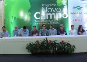 Evento contou com a presença dos parceiros e apoiadores do programa.