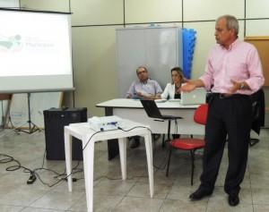 Eduardo Moura, da secretaria executiva do PMS. Foto: Djhuliana Mundel/ICV
