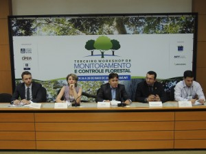 III Workshop de Monitoramento e Controle Florestal. Foto: Djhuliana Mundel / ICV