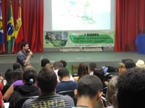 Júlio Cesar Wojciechowski professor da Unemat, ressaltou a importância das técnicas no mercado de trabalho atual. Foto: Raíssa Genro/ICV