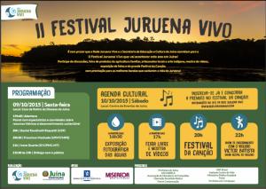 CARTAZ Convite JURUENA VIVO