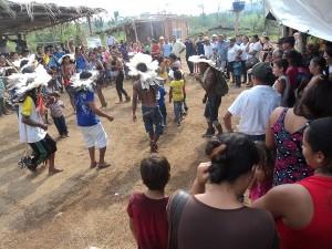 Cultura indígena Rikbaktsa foi prestigiada pelos participantes. Foto: Sucena Shkrada Resk/ICV
