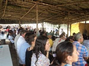 Mais de 200 pessoas circularam pelo 4º Encontro de Saberes e Sabores. Foto: Sucena Shkrada Resk/ICV
