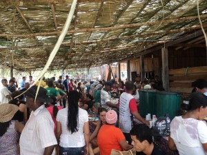 Gastronomia foi um dos pontos altos do encontro. Foto: Sucena Shkrada Resk/ICV