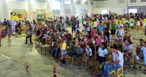 Mais de 400 pessoas estiveram presentes no lançamento da Campanha Cotriguaçu a Caminho da Sustentabilidade. Foto: Sucena Shkrada Resk/ICV