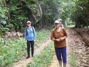 Vivência em área de mata conservada fez parte da visita. Foto: Sucena Shkrada Resk/ICV