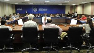 Integram a comissão sete secretarias estaduais e 14 instituições como membros convidados, entre eles, empresas privadas, sociedade civil organizada, Ministério Público Estadual e Federal. Foto: Djhuliana Mundel / ICV