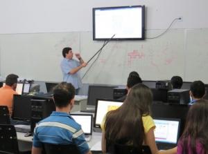 Formação reuniu técnicos locais, estudantes e professores. Foto: Guilherme Munhoz/ICV