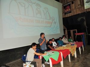 Pluralidade de representações foi destaque de mesa do Fórum Teles Pires. Foto: Sucena Shkrada Resk/ICV