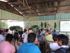 Promotor do município falou sobre projeto de recuperação ambiental. Foto: Sucena Shkrada Resk/ICV
