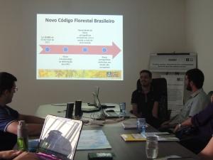 Estudo foi feito de acordo com as regras do Código Florestal. Foto: Raíssa Genro/ICV