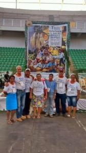 Parte dos representantes de Cotriguaçu, durante 7º Encontro. Foto: Elisangela Sodré/ICV