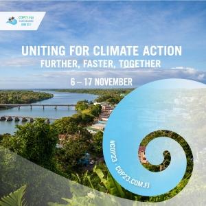 Arte oficial da COP 23 sobre mudanças climáticas