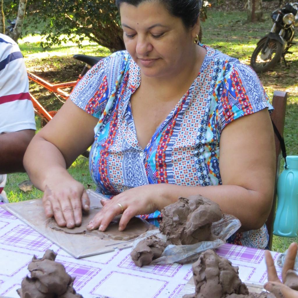 Germinar estimula formação de 183 lideranças transformadoras. Marcilene Nunes Medeiros da Silva participa das atividades propostas pelo programa