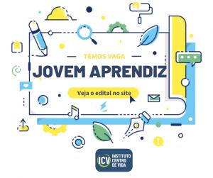 ICV lança edital para contratação de jovem aprendiz